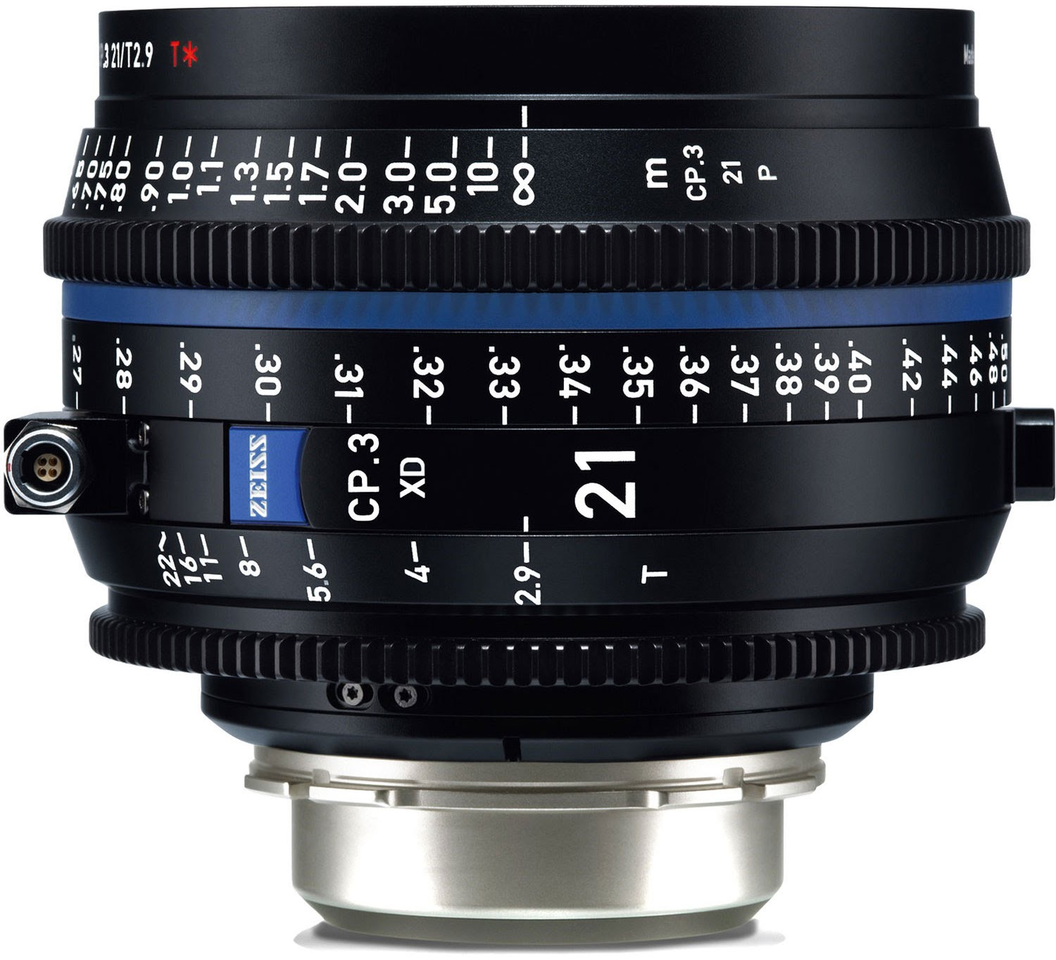 ZEISS CP.3 XD 21mm T2.9 Compact Prime Lens